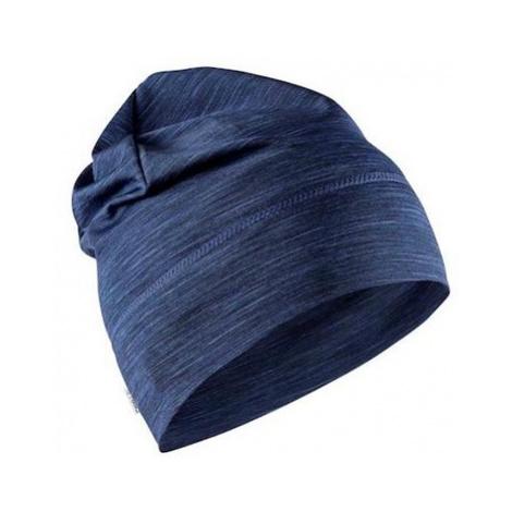 Čiapka CRAFT Melange High 1906433-396200 tmavo modrá