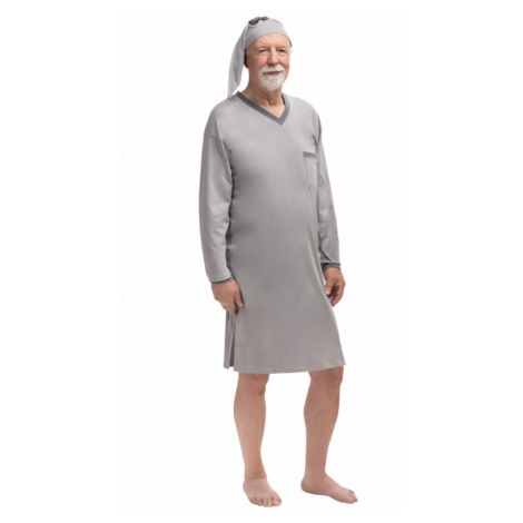 Pánska nočná košeľa 501 Sylwester - Dlhé rukávy
