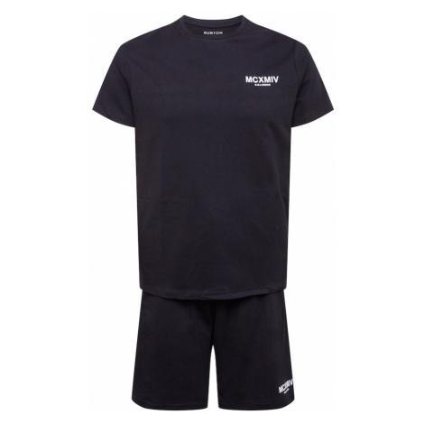 BURTON MENSWEAR LONDON Joggingová súprava  čierna / biela