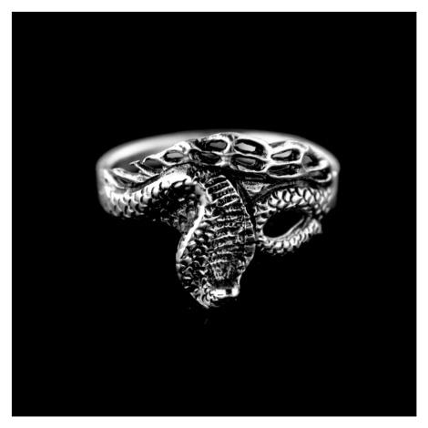 Strieborný prsteň 15238