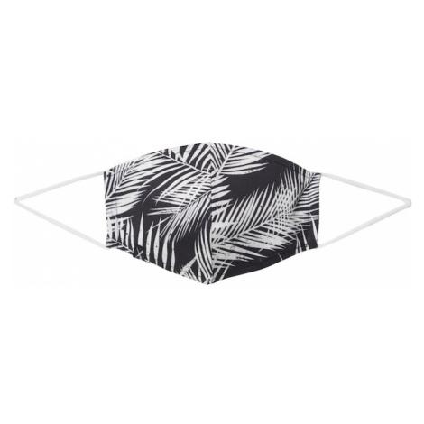Iriedaily Látkové rúško 'FUNKY'  čierna / biela