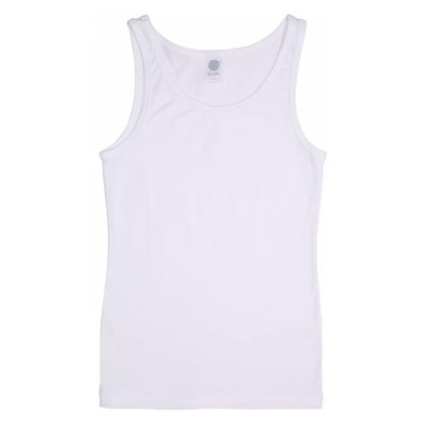SANETTA Tielko 'Shirt w/o sleeves'  biela
