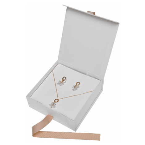 Top Secret LADY'S NECKLACE AND EARRINGS SET