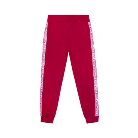 Guess Teplákové nohavice J0YQ08 KA6V0 Ružová Regular Fit