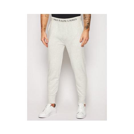 Polo Ralph Lauren Teplákové nohavice Loop Back 714804801001 Sivá Regular Fit