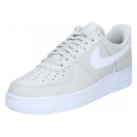 Nike Sportswear Nízke tenisky 'Air Force 1 '07'  biela / svetlozelená