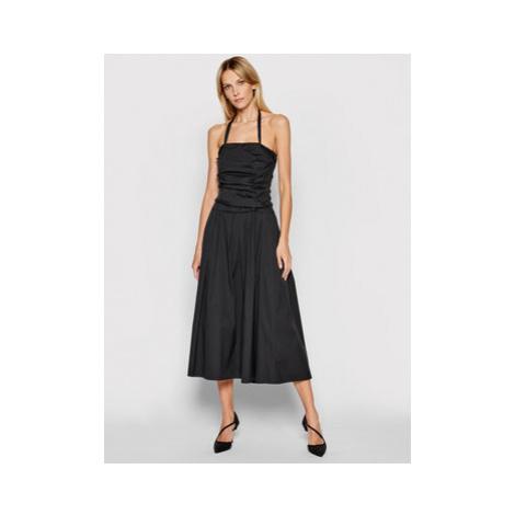 Marella Každodenné šaty Adler 32210112 Čierna Regular Fit
