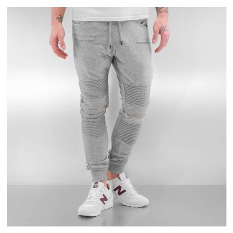 2Y Zip Sweatpants Grey - Veľkosť:M