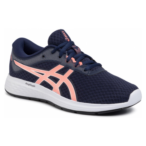 Topánky ASICS - Patriot 11 1012A484 Peacoat/Sun Coral 400