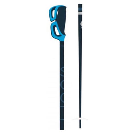 Scott STRAPLESS S modrá - Dámske lyžiarske palice