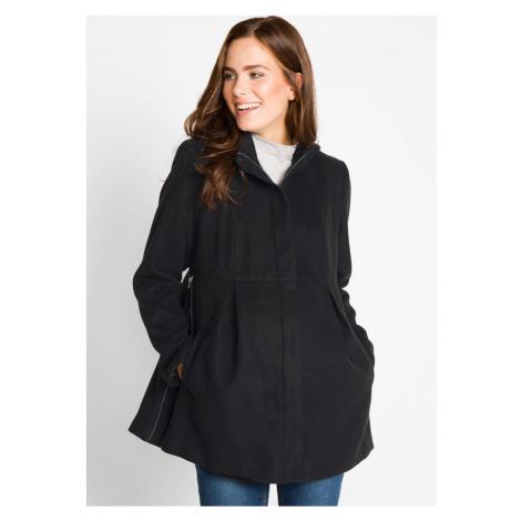 Tehotenský kabát s kapucňou, regulovateľný v šírke