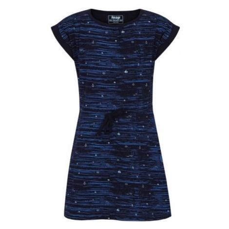 Loap ALINA modrá - Dievčenské šaty