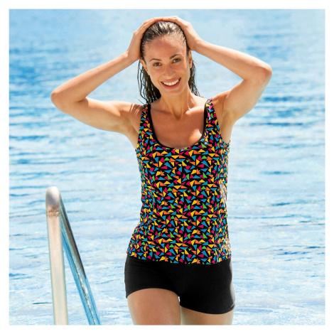 Blancheporte Jednodielne plavky s nohavičkami, tankiny efekt viacfarebná