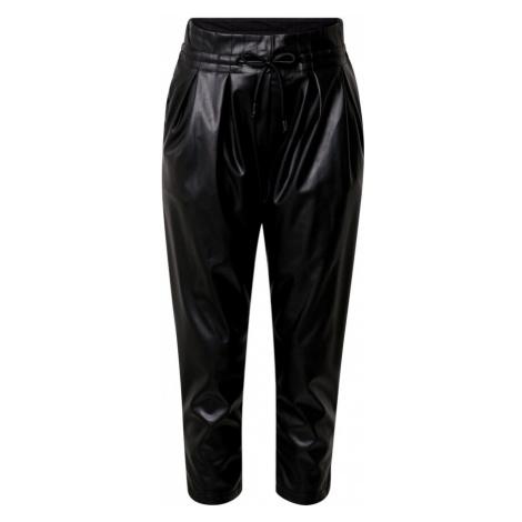 Karo Kauer Plisované nohavice  čierna