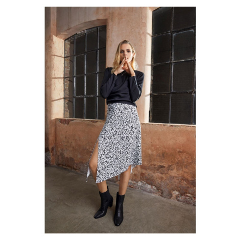 Firetrap Blackseal Printed Midi Skirt
