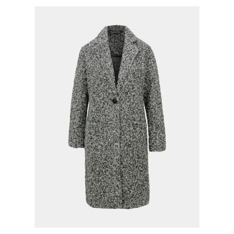 Šedý kabát Jacqueline de Yong Loop