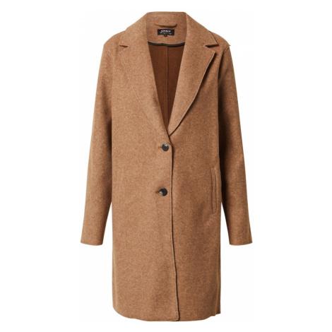ONLY Prechodný kabát 'Carrie'  hnedá melírovaná