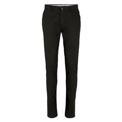 TOM TAILOR Chino nohavice  čierna