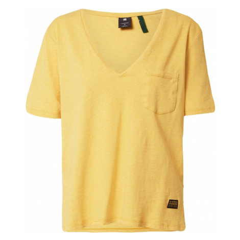 G-Star RAW Tričko  žltá