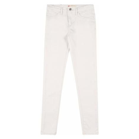 LEVI'S Džínsy '710 Super Skinny'  biela Levi´s
