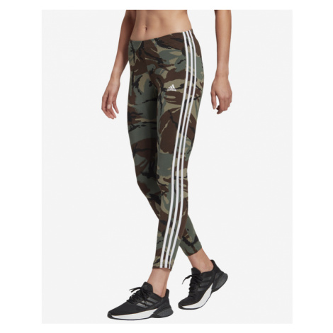 adidas Performance Essentials Camouflage Legínsy Zelená