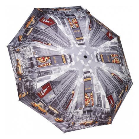 Blooming Brollies Dámsky skladací plne automatický dáždnik Times Square GCFTS