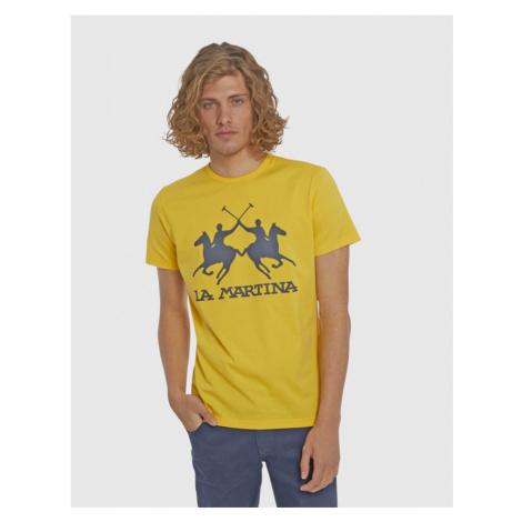 Tričko La Martina Man S/S Cotton Jersey T-Shirt