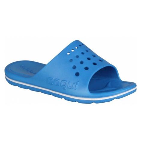 Coqui LONG modrá - Pánske šľapky