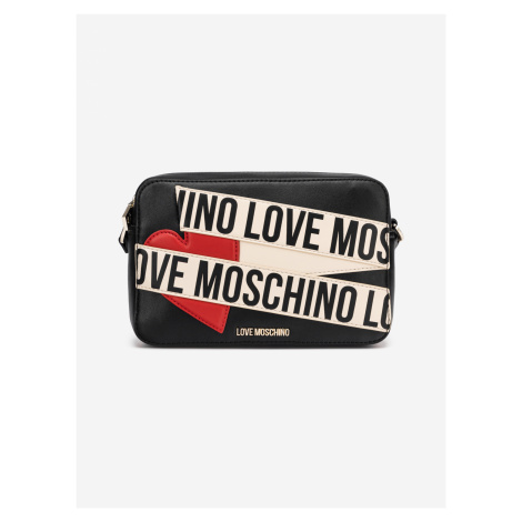 Cross body bag Love Moschino Čierna