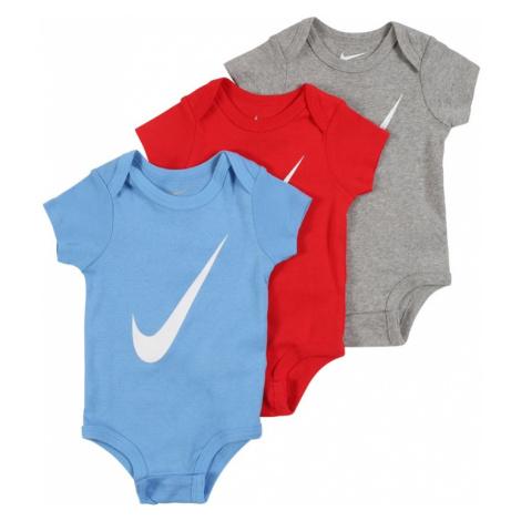 Nike Sportswear Body  červená / modrá / sivá