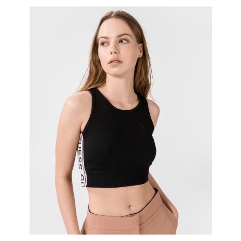 Tričká s krátkym rukávom pre ženy Guess - čierna