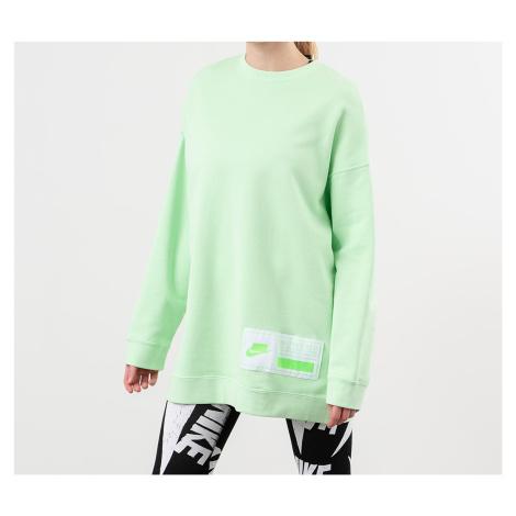 Nike Sportswear Fleece Oversized Crewneck Vapor Green/ White/ Green Strike