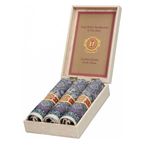 Pánske vreckovky v luxusnej sade ETEX Ilan