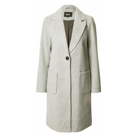 ONLY Prechodný kabát  svetlosivá