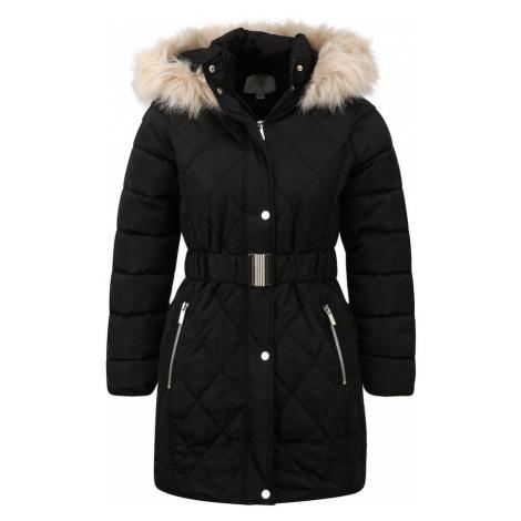Dorothy Perkins Zimný kabát  čierna