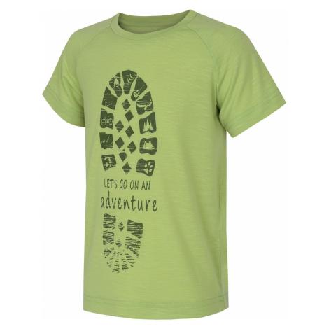 Husky Zingl Kids sv. zelená, Detské tričko