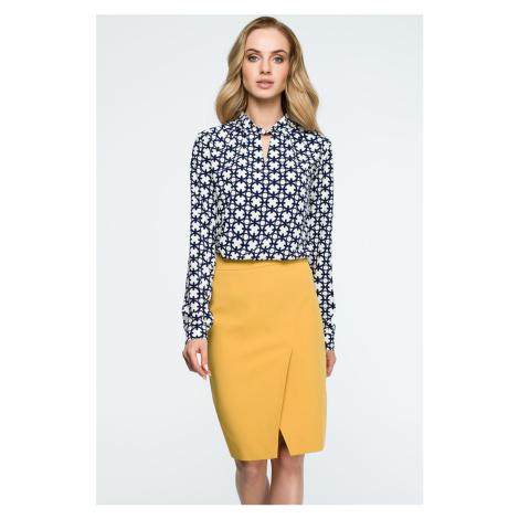 Žltá sukňa S127