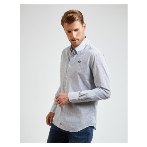 Košeľa La Martina Man All Over Poplin Shirt