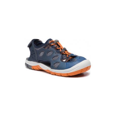 Jack Wolfskin Sandále Titicaca Low K 4022491 D Tmavomodrá
