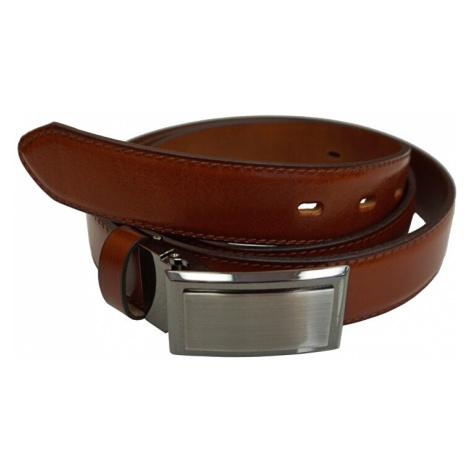N.Ties Pánsky kožený opasok OKPS002-43 Brown cm N.Ties Classic