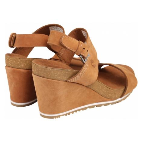 TIMBERLAND Remienkové sandále 'Capri Sunset'  koňaková