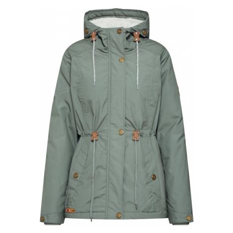 Iriedaily Prechodná bunda 'Hopi Kishory'  svetlozelená / olivová