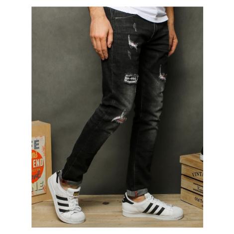 Men's black jeans pants UX2516 DStreet