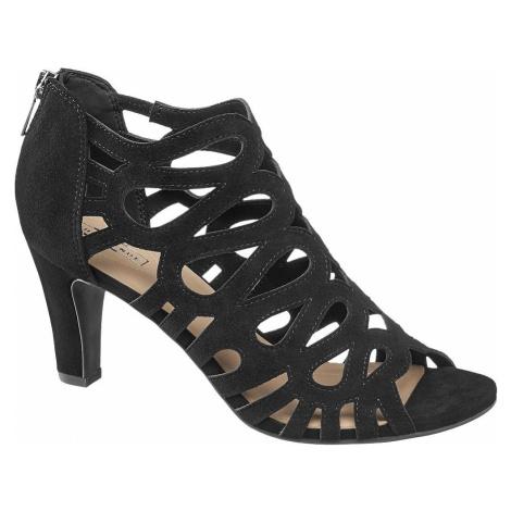 5th Avenue - Semišové sandále