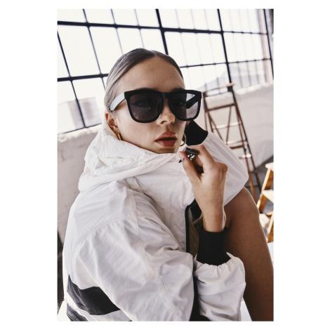 Unisex slnečné okuliare MSTRDS Sunglasses September black/black Pohlavie: pánske,dámske