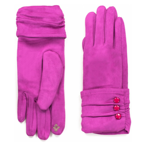 Art Of Polo Woman's Gloves rk18412 Fuchsia