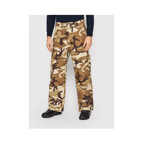 Billabong Lyžiarske nohavice Tuck Knee U6PM23BIF0 Hnedá Relaxed Fit