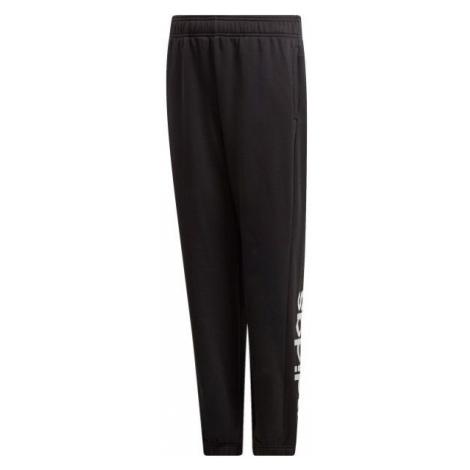 adidas YB E LIN PT čierna - Chlapčenské tepláky