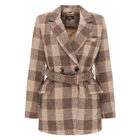 usha BLACK LABEL Prechodný kabát  hnedá / béžová
