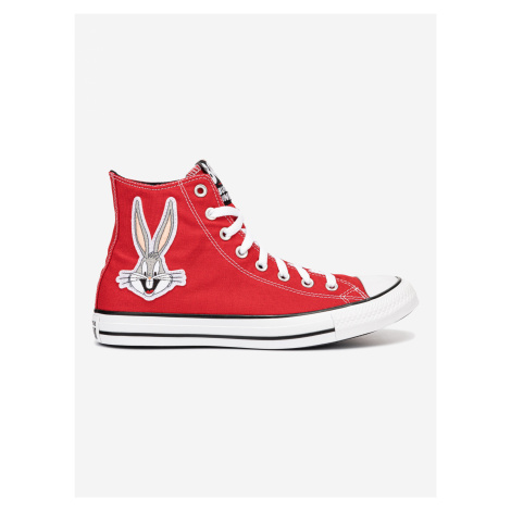 Bugs Bunny Chuck Taylor All Star Tenisky Converse Červená